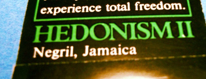 Hedonism II is one of Things to do before you die!.