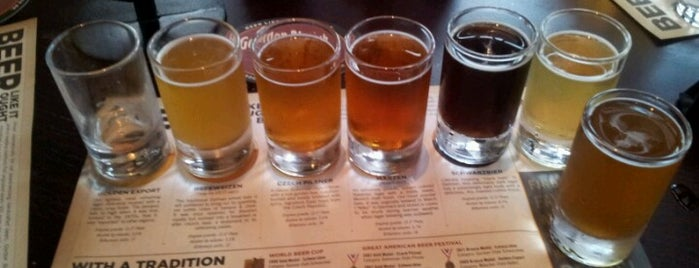 Gordon Biersch Brewery Restaurant is one of Vegas Craft Beer.