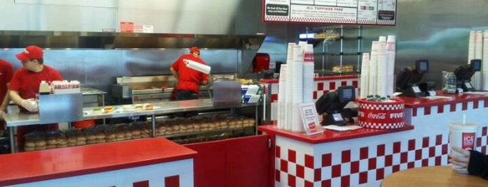 Five Guys is one of Top 10 restaurants when money is no object.