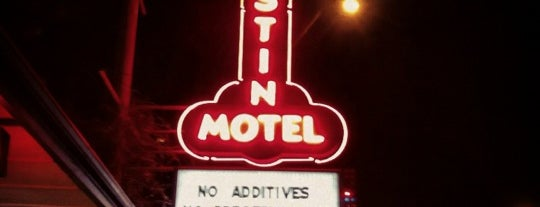 Austin Motel is one of The Austin Boutique Experience.