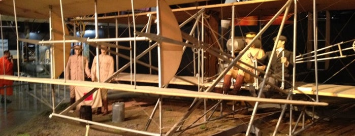 Wright Brothers Aviation Center is one of Gem City.