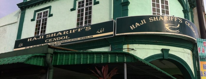 Haji Shariff's Cendol is one of Yumsie places <3.