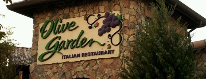 Olive Garden is one of Places I Like to Eat.