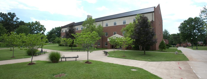 Zacharias Hall is one of Campus Tour.