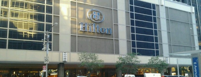 New York Hilton Midtown is one of Random.