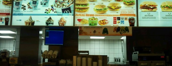 McDonald's is one of Restaurantes que admiten cheques Gourmet.