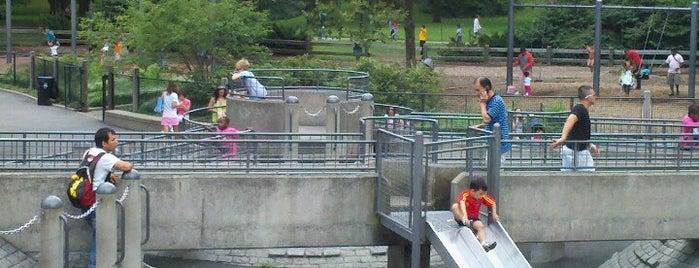 Heckscher Playground is one of NYC.