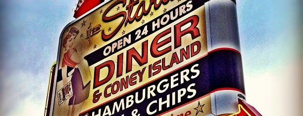 Starlite Diner is one of Food.