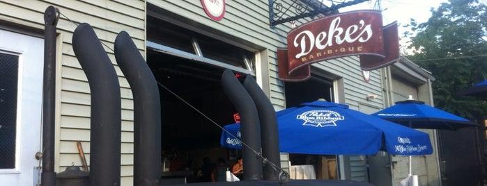 Deke's Bar-B-Que is one of Restaurants.