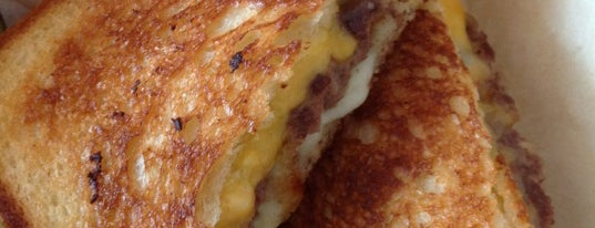 The Grilled Cheese Grill is one of Oregon.