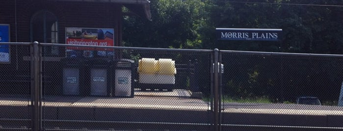 NJT - Morris Plains Station (M&E) is one of New Jersey Transit Train Stations.