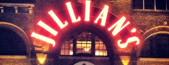 Jillian's Lucky Strike is one of Boston.