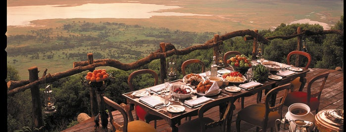 Ngorongoro Crater Lodge is one of Dream Destinations.
