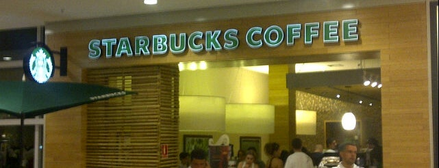 Starbucks is one of My food places.