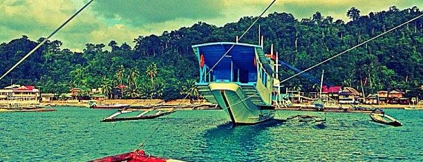 Port of El Nido is one of Filipinler-Manila ve Palawan Gezilecek Yerler.