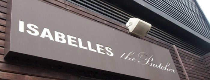 ISABELLES the Butcher is one of 굿뜨!.