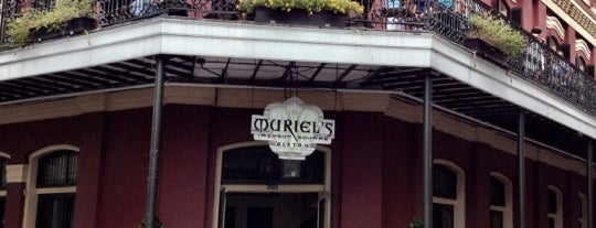 Muriel's Jackson Square is one of New Orleans To-Do List.