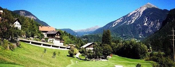 Golfclub Alvaneu is one of Davos.