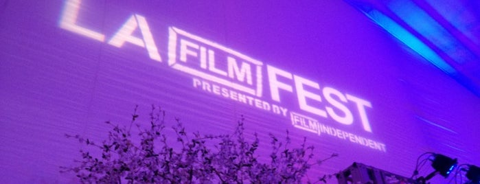 Los Angeles Film Festival is one of See MY DTLA.