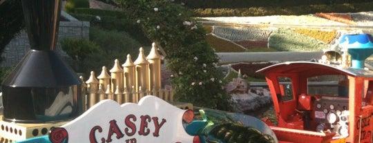 Casey Jr. Circus Train is one of Disneyland Fun!!!.