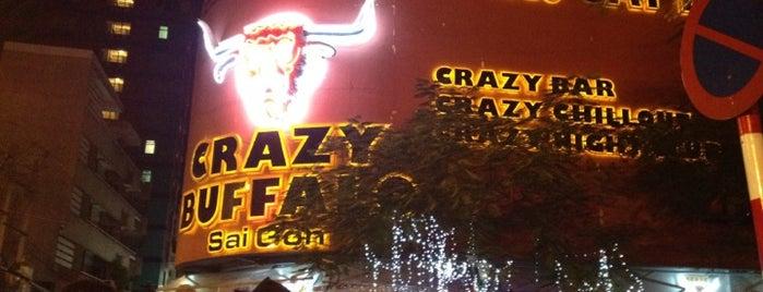 Crazy Buffalo Bar & Nightclubs is one of Khu Tây Balo.