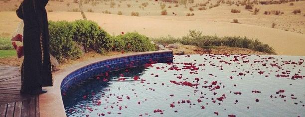 Al Maha Desert Resort & Spa is one of お気に入り.