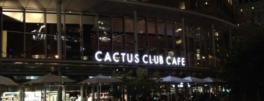 Cactus Club Cafe is one of Noms.