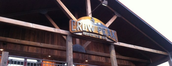 Crow Peak Brewing Company is one of Rapid City, SD.