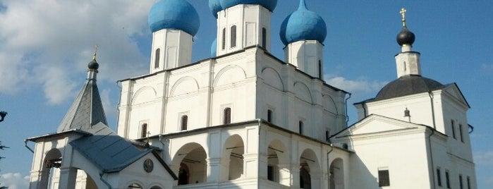 Высоцкий мужской монастырь is one of Раз.
