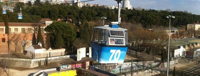 Parque teleferico is one of Madrid, baby!.