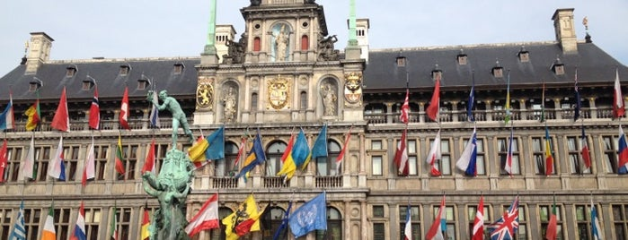 Stadhuis Antwerpen is one of Belgium / World Heritage Sites.