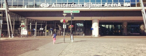 Station Amsterdam Bijlmer ArenA is one of Public transport NL.