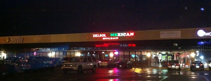 Del Sol is one of Best Hattiesburg Dining.