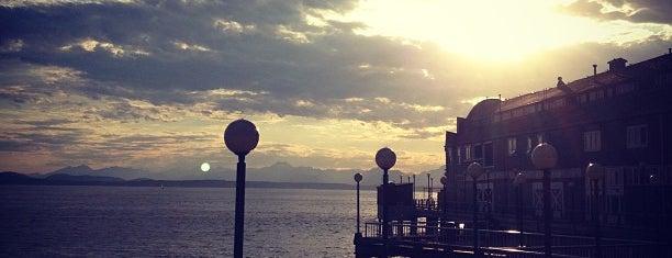 Waterfront Piers is one of Seattle spots.