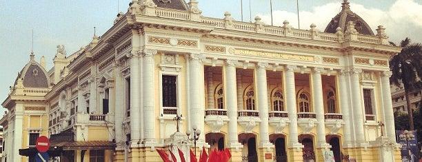 Nhà Hát Lớn Hà Nội (Hanoi Opera House) is one of Venues in Hanoi for live music.