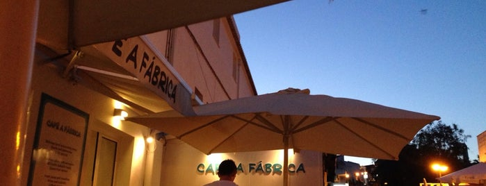 Cafe A Fabrica is one of Restaurantes.