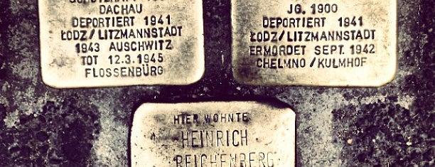 Stolperstein Reichenberg is one of Stolpersteine 1933 - 1945.
