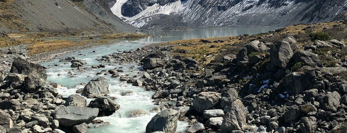 Mount Cook National Park is one of New Zealand.