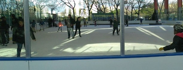 Ice Rink At Riverbank State Park is one of Top Ice Skating Rinks in NYC.