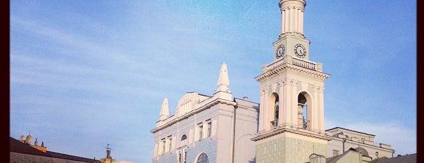 Kontraktova Square is one of TOP-20: Київ.