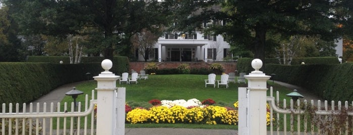 Woodstock Inn & Resort is one of Historic Hotels to Visit.