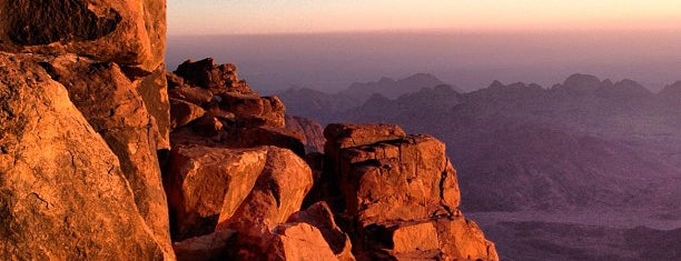 Mount Sinai is one of Be Charmed @ Sharm El Sheikh.