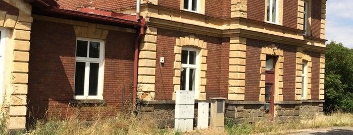 Železniční zastávka Plešnice is one of Železniční stanice ČR: P (9/14).