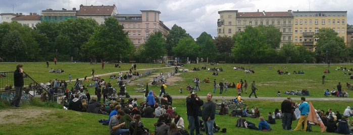 Görlitzer Park is one of Sommer Chillspots.