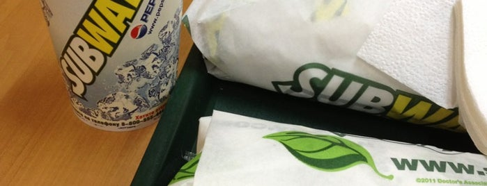 SUBWAY is one of 24 Hour Restaurants.