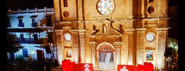 Iglesia San Pedro Claver is one of Cartagena de Índias, Colombia.
