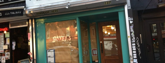 Davey's Ice Cream is one of East Village.