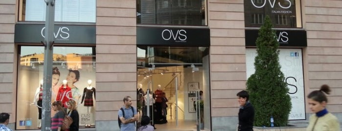 OVS is one of Shopaholics' guide to Yerevan.