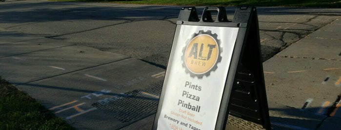 Alt Brew is one of Chicagoland Breweries.