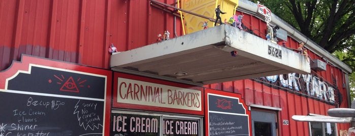 Carnival Barker's is one of Place to eat.